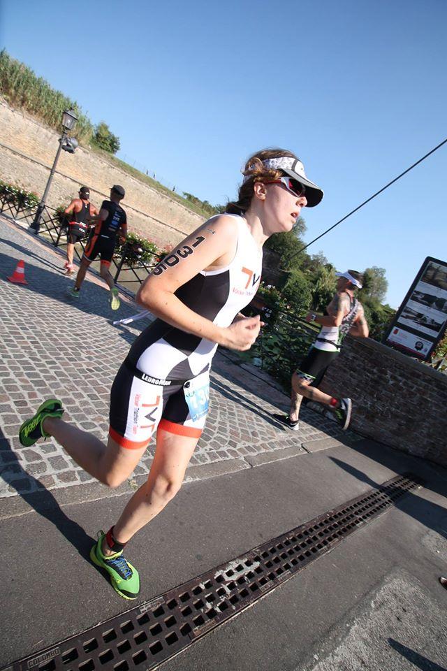 Giulia al Triathlon Olimpico di Peschiera del Garda 24.09.2016