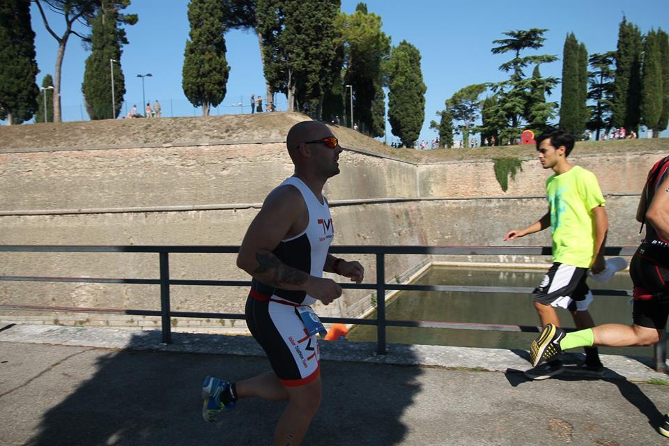 Davide al Triathlon Olimpico di Peschiera del Garda 24.09.2016