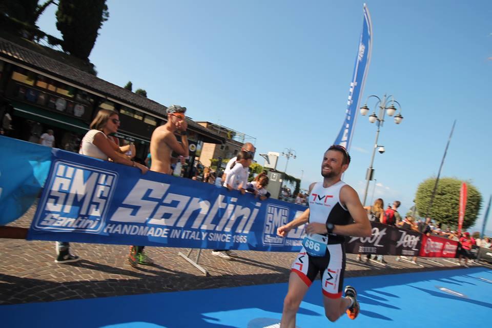 Paolo al Triathlon Olimpico di Peschiera del Garda 24.09.2016
