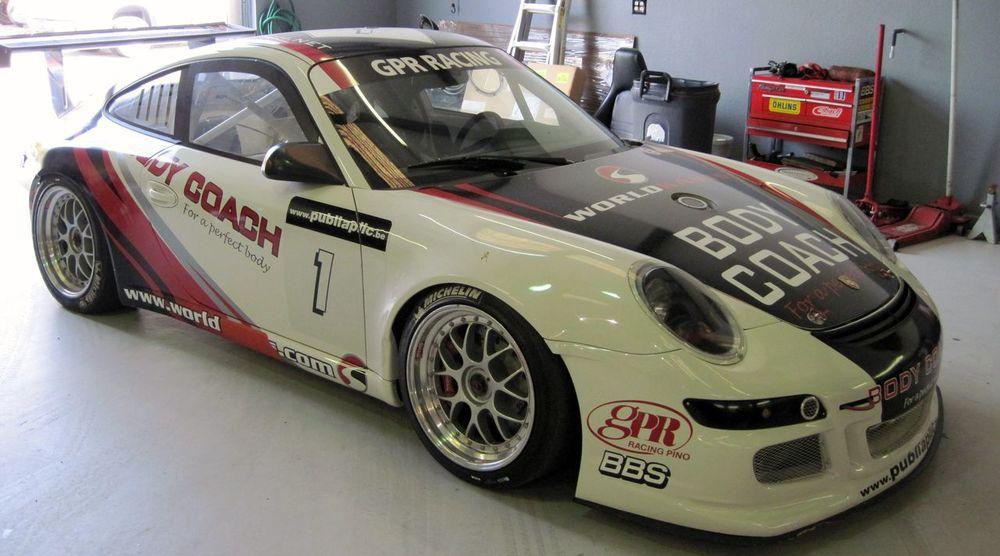 Porsche 911 997 Cup Car