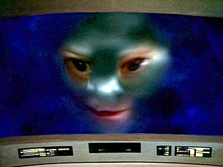 Screenshot form    Star Trek: The Next Generation .     Taken from     http://en.wikipedia.org/wiki/File:Nagilum.jpg#file