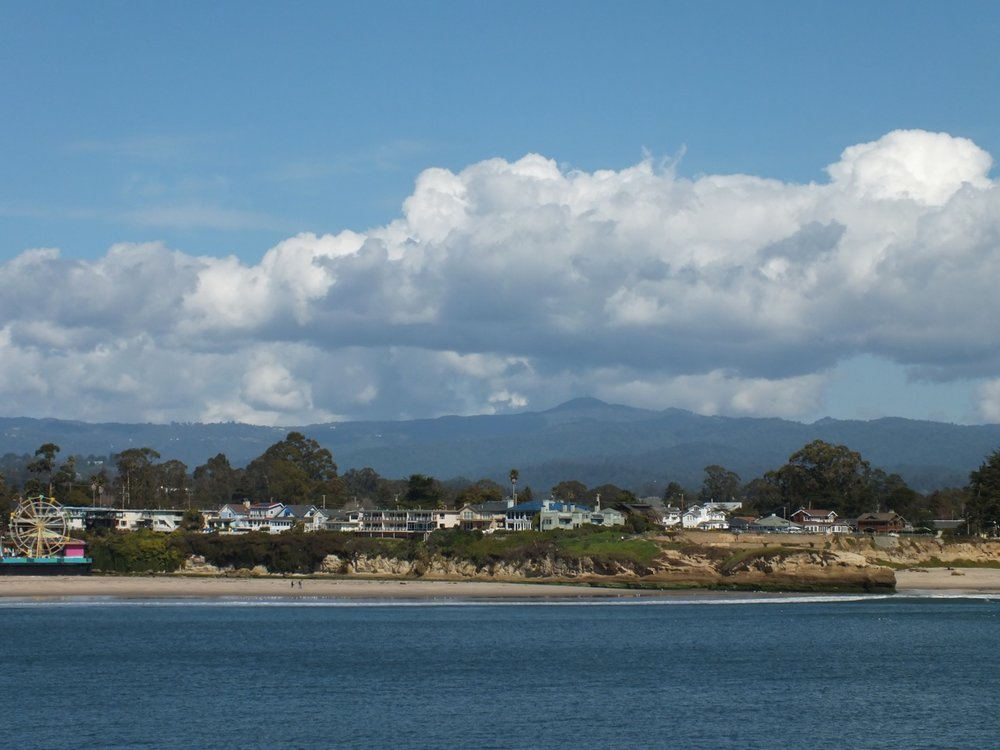Loma Prieta from San Lorenzo River Mouth