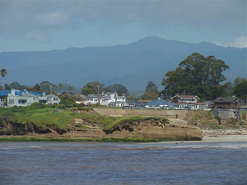 Loma Prieta from San Lorenzo River Point, Santa Cruz