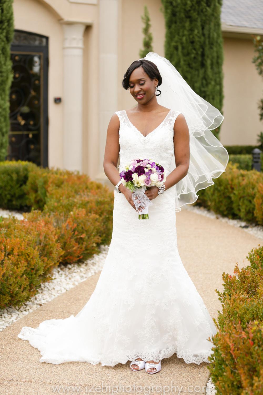 A Romantic Wedding at Mediterranean Villa | Arlington, Texas — Izehi ...