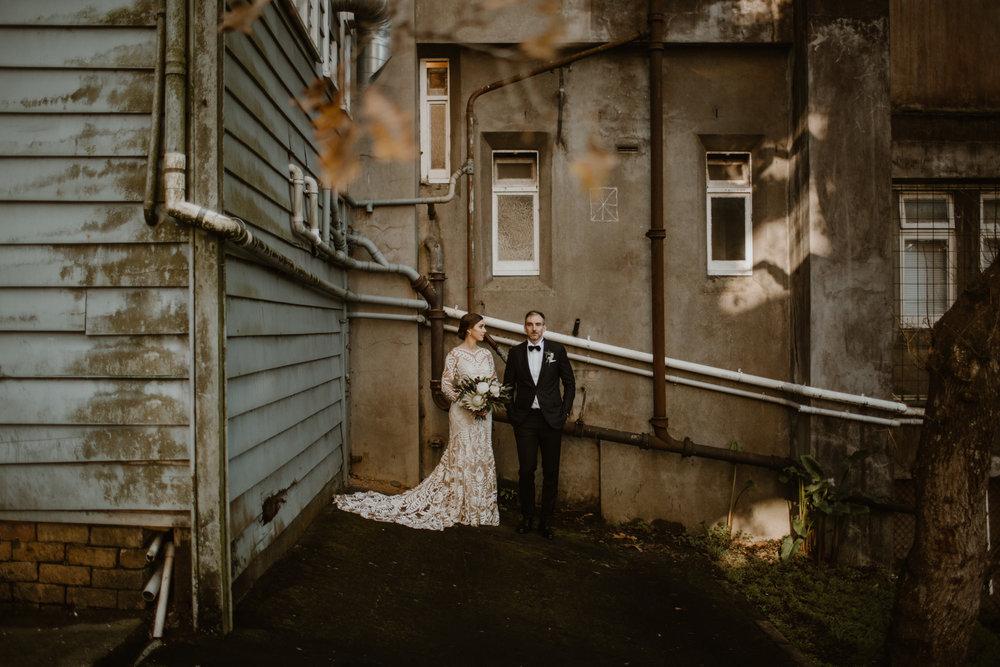 Indiana + Simeon | Quay Project, Auckland CBD