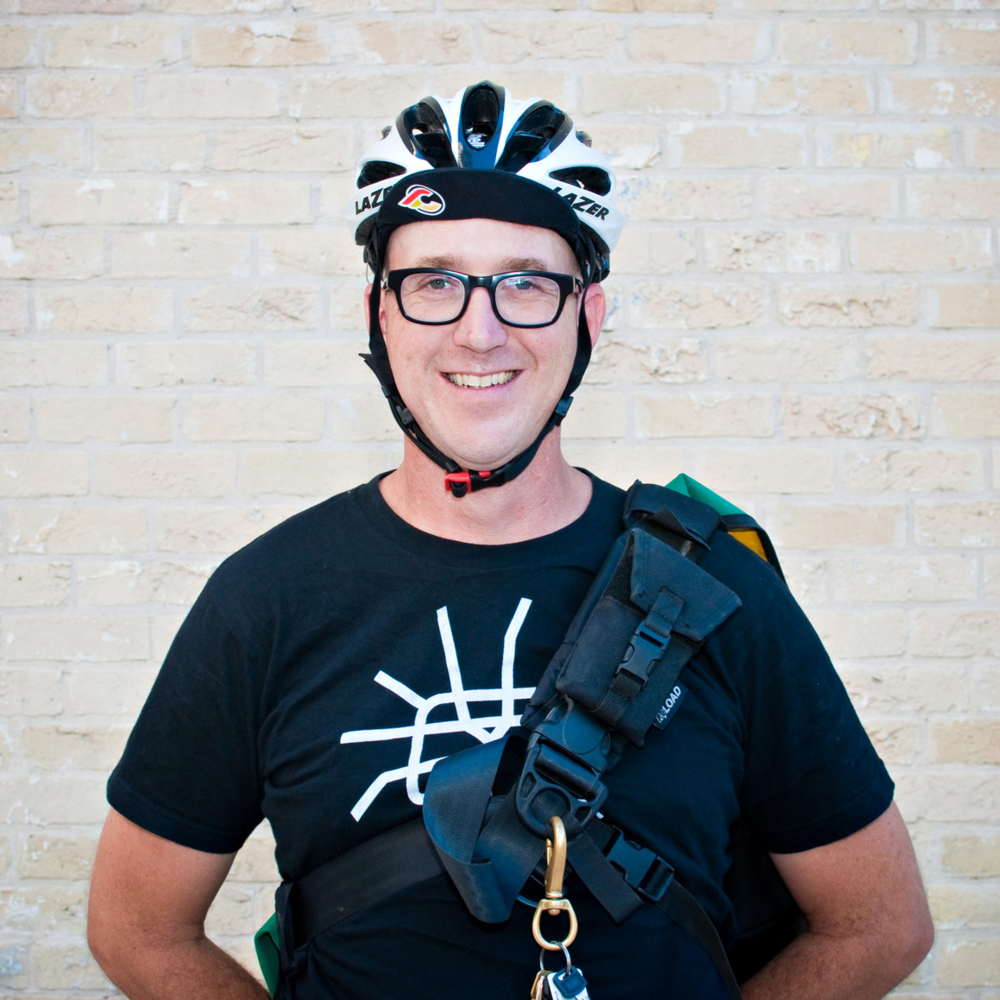 Russell, Tour Guide: A history enthusiast and former pedicabber, there isn't much that Russell doesn't know about bikes and the city.