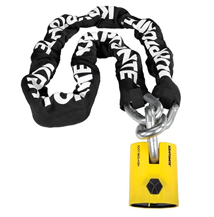 Kryptonite Fahgettaboudit Chain and Disc Lock -