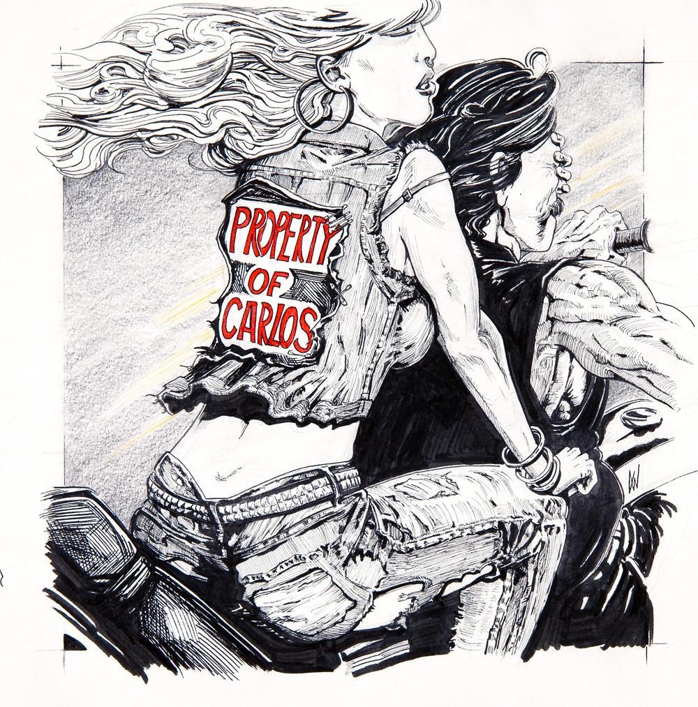 """Property of Carlos"" album cover"