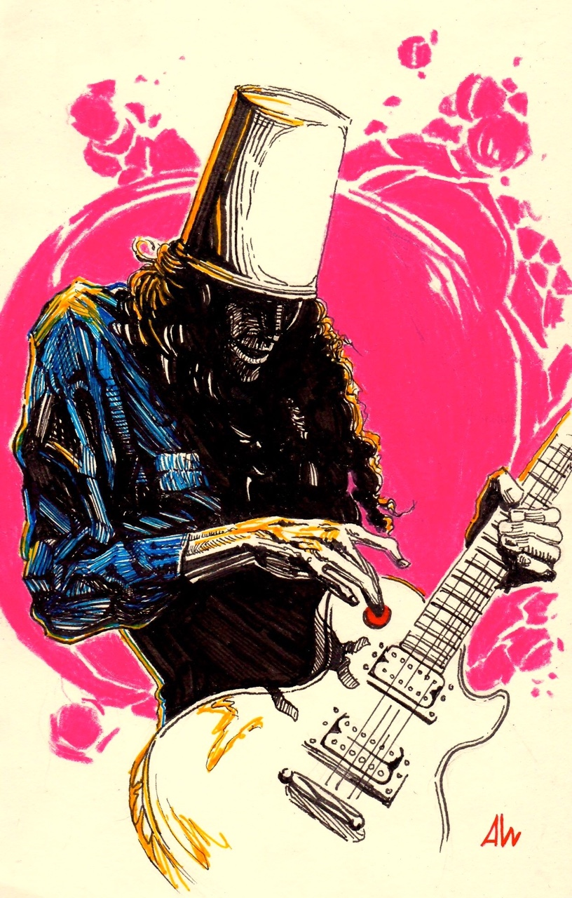 Buckethead Shreds Through the Cosmos