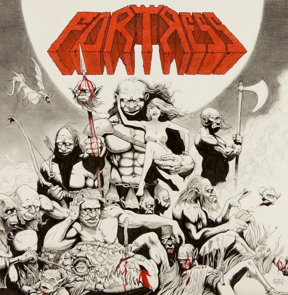 """""""Fortress"""" album cover"""