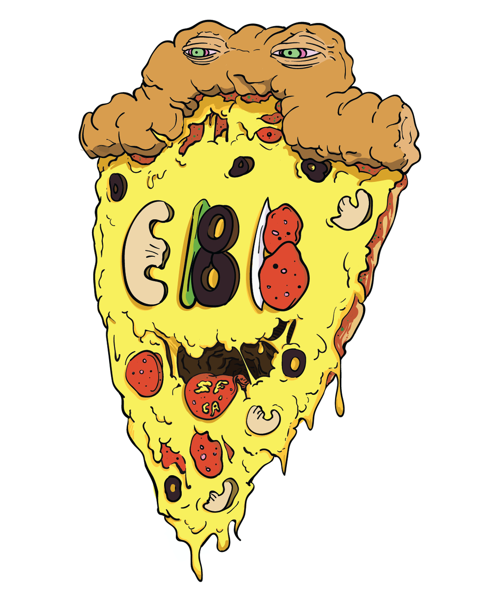 Everybody Bikes Pizza