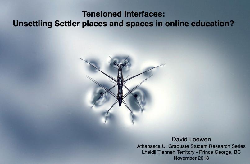 Presentation November 2018 for AU Graduate Student Research Series