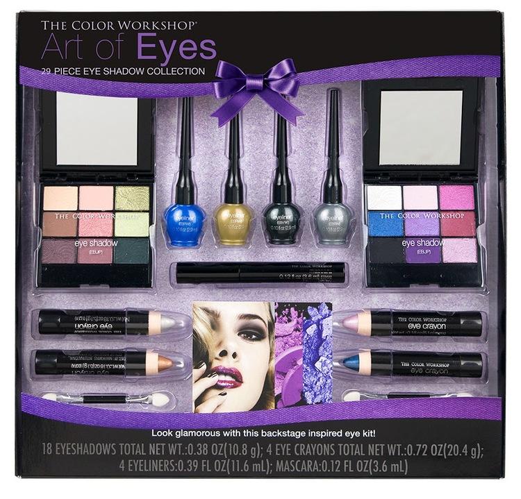 Review: The Color Workshop Art of Eye Makeup Set — villabeauTIFFul