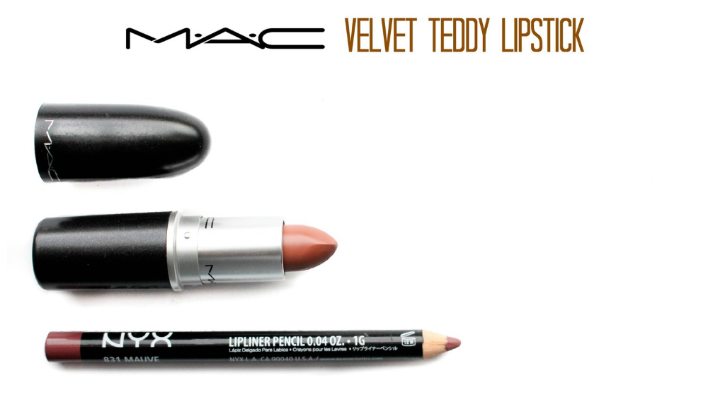 MAC Velvet Teddy LipstickMac Velvet Teddy