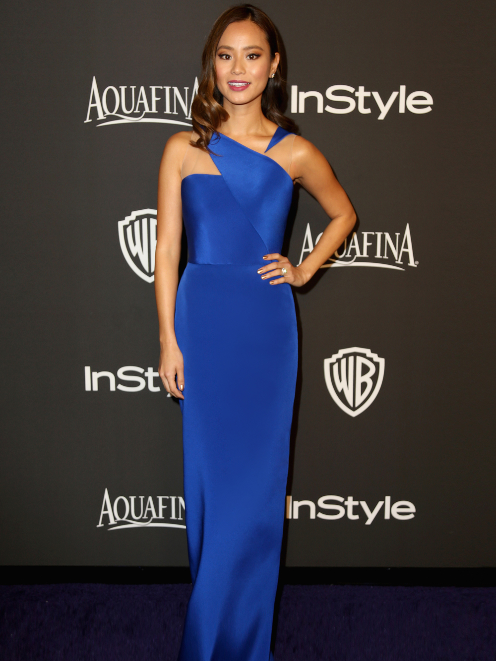 """Jamie Chung looks supremely chic!"" - US Weekly  Read her interview with InStyle Magazine here"