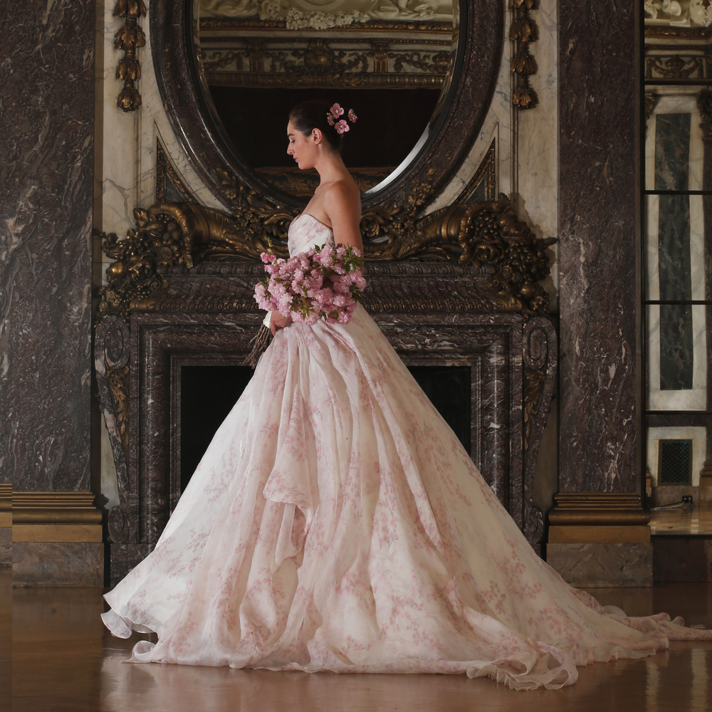 Wedding Gowns In Nyc: Romona Keveza Unveils Her Spring 2016 Luxe Bridal
