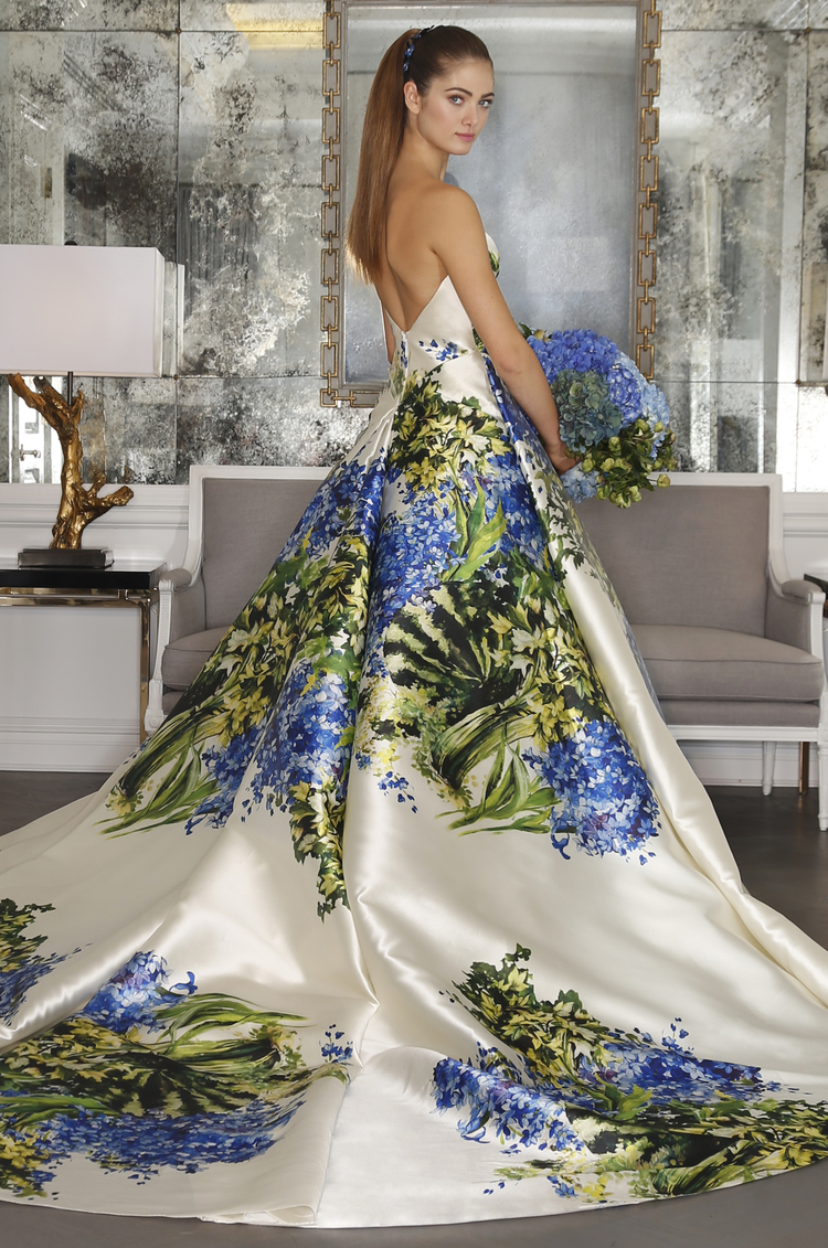 wedding floral dresses