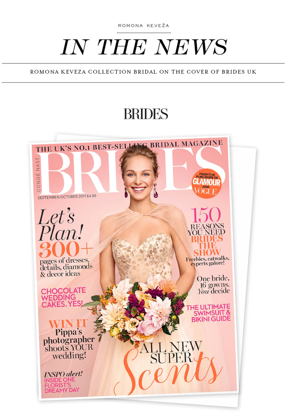 IN THE NEWS - Romona Keveza Collection on the Front cover of BRIDES UK Magazine.jpg