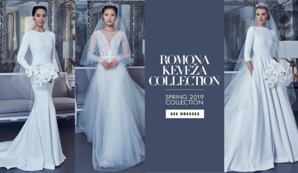 077cb1a5fc043 Romona Keveza Collection Bridal Spring 2019 Review in Inside Weddings  Magazine