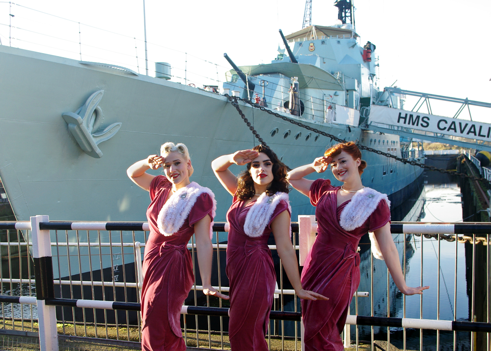 The Belladonna Brigade at The Historic Dockyard in Chatham