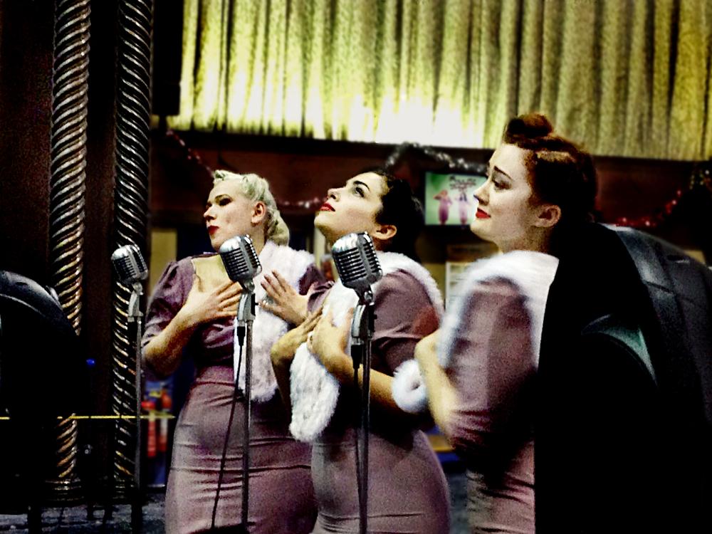 The Belladonna Brigade Vintage Trio