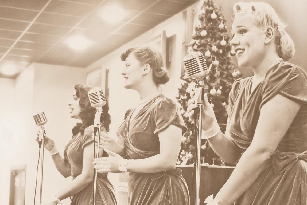 The Belladonna Brigade 40's harmony trio