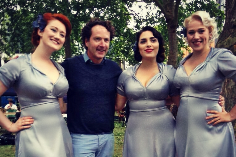 The Belladonna Brigade at Grandfest Hoxton for Royal Voluntary Service with Diarmuid Gavin