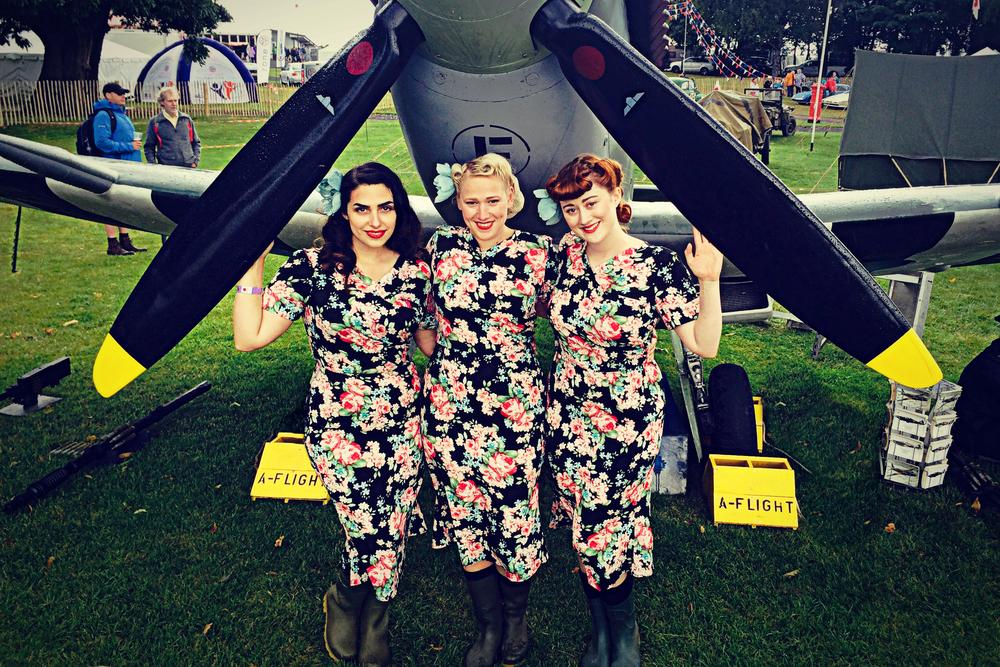 The Belladonna Brigade at Car Fest North 2015 BBC Children in Need