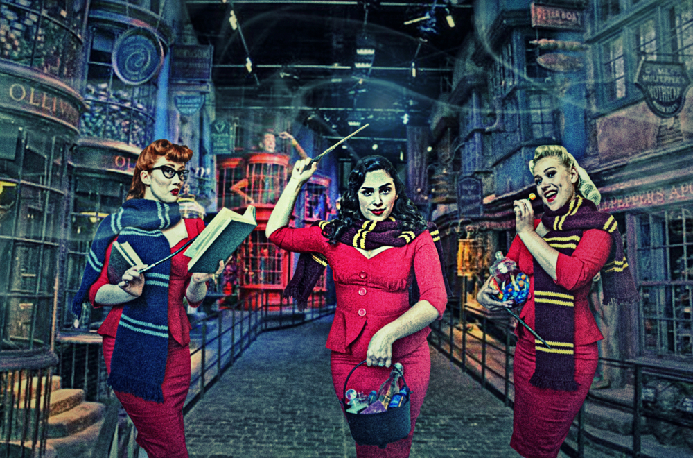 The Belladonna Brigade at Harry Potter World