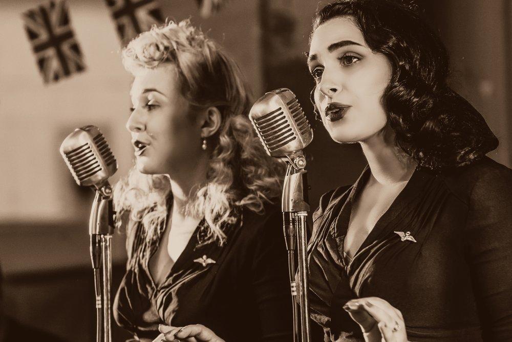 The Belladonna Brigade - Event Entertainment - Event Singers - Vintage Entertaiment