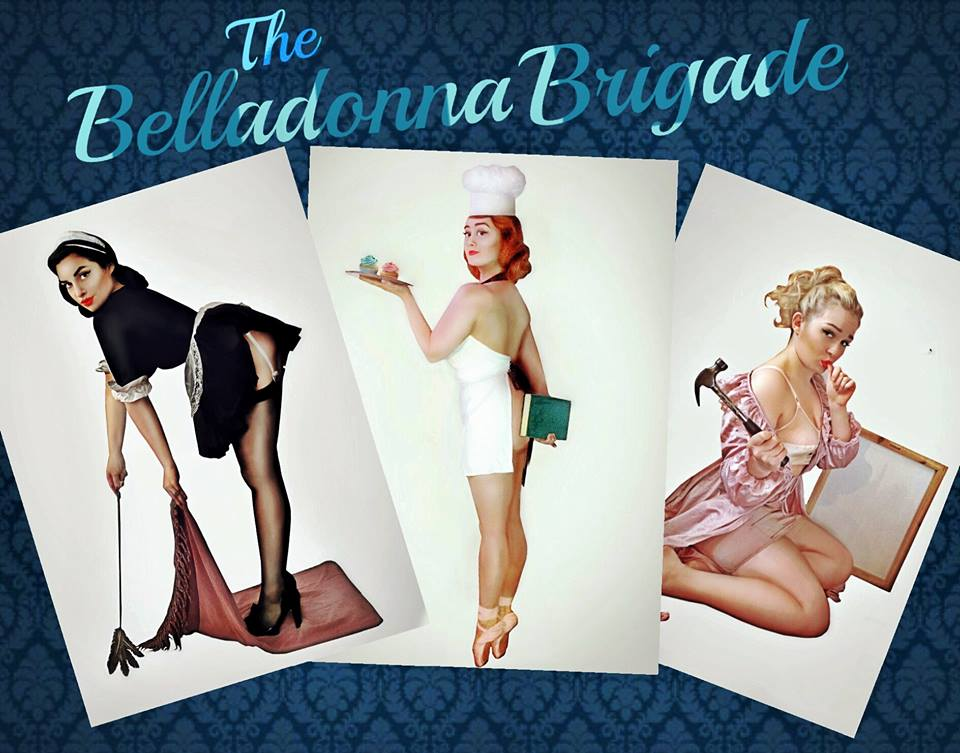 The Belladonna Brigade - Event Singers - 1940's Trio - The Andrews Sisters