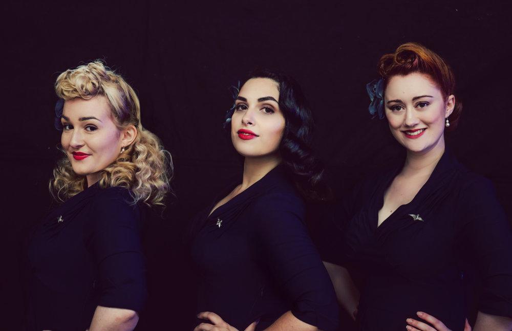 The Belladonna Brigade- 1940,s Trio - Event Singers