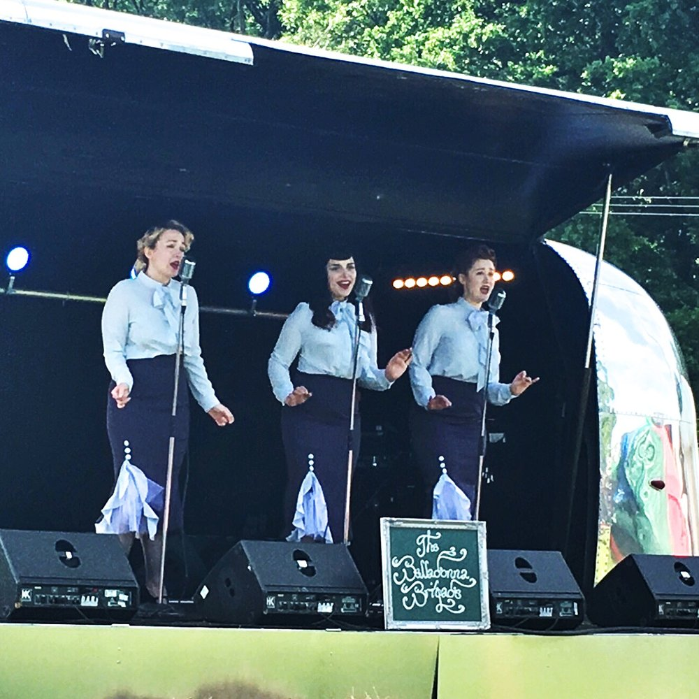 The Belladonna Brigade - Event Singers - Band- Vintage Performers