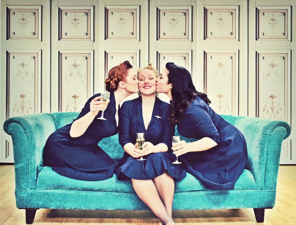 The Belladonna Brigade - Event Singers- 1940's Singing Trio