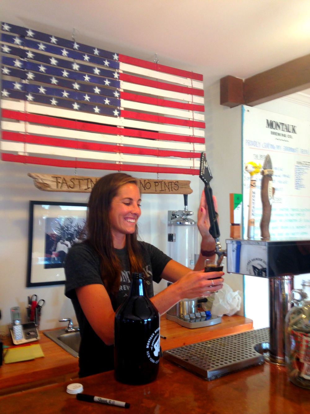 Erin, Montauk Brewing Co.
