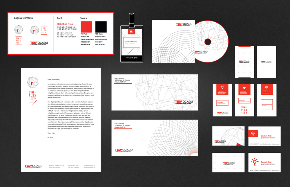 Simplexity Branding Set