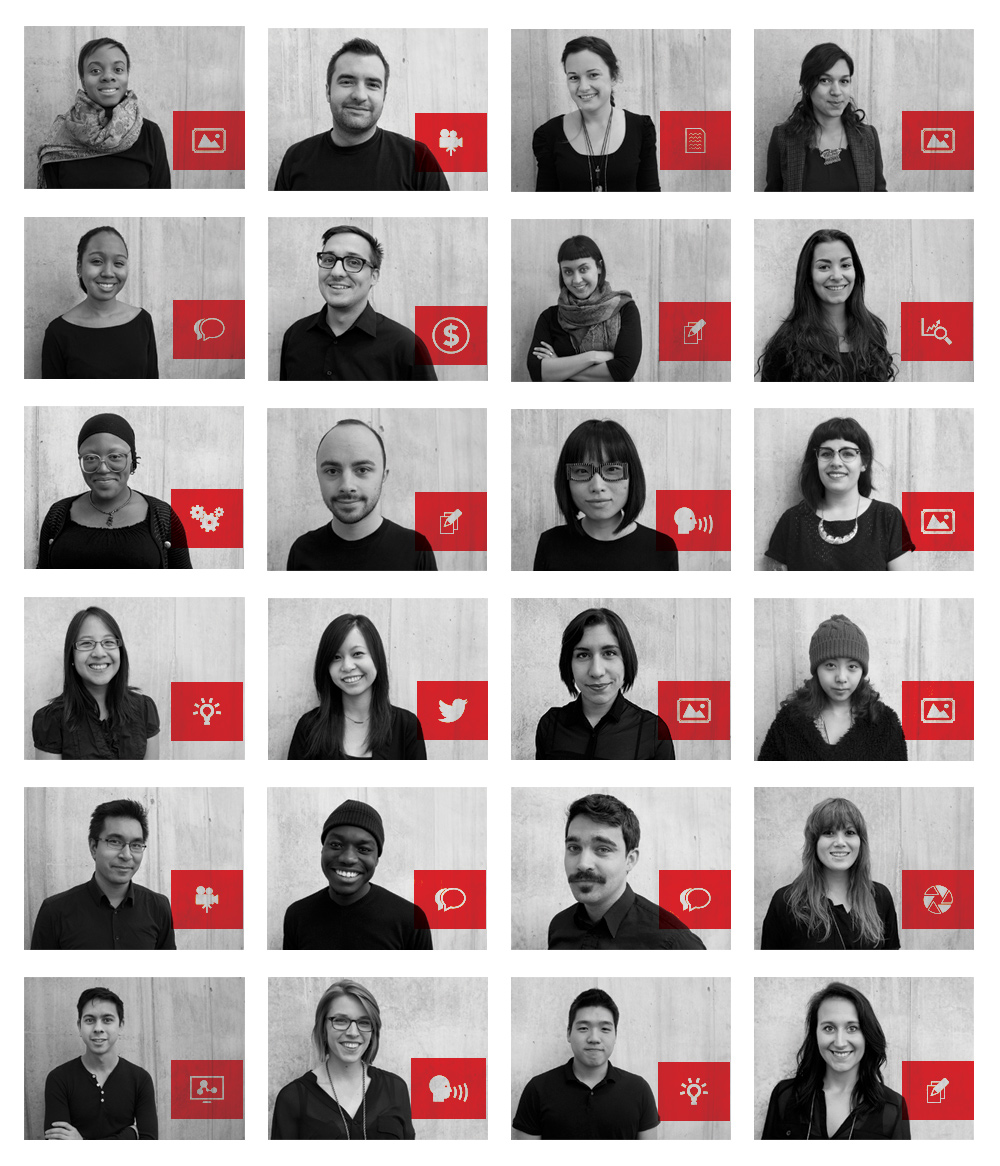 TEDx OCADU 2013 Team Members