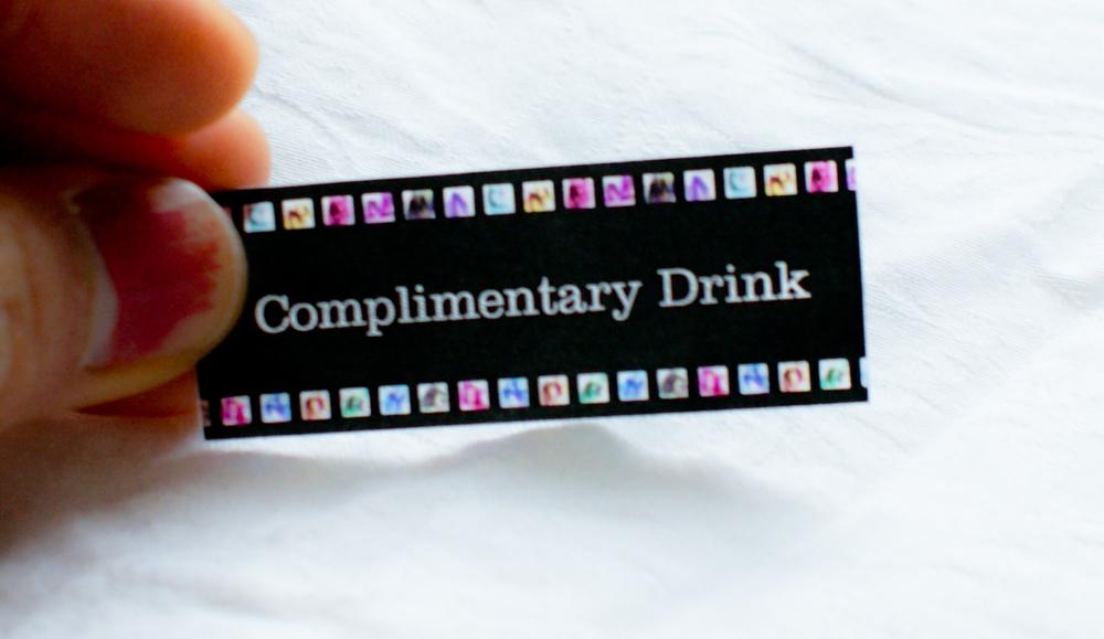 Drink ticket