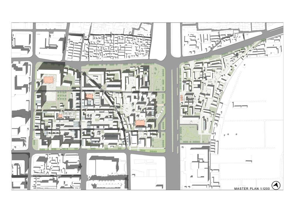 Master Plan of re-development