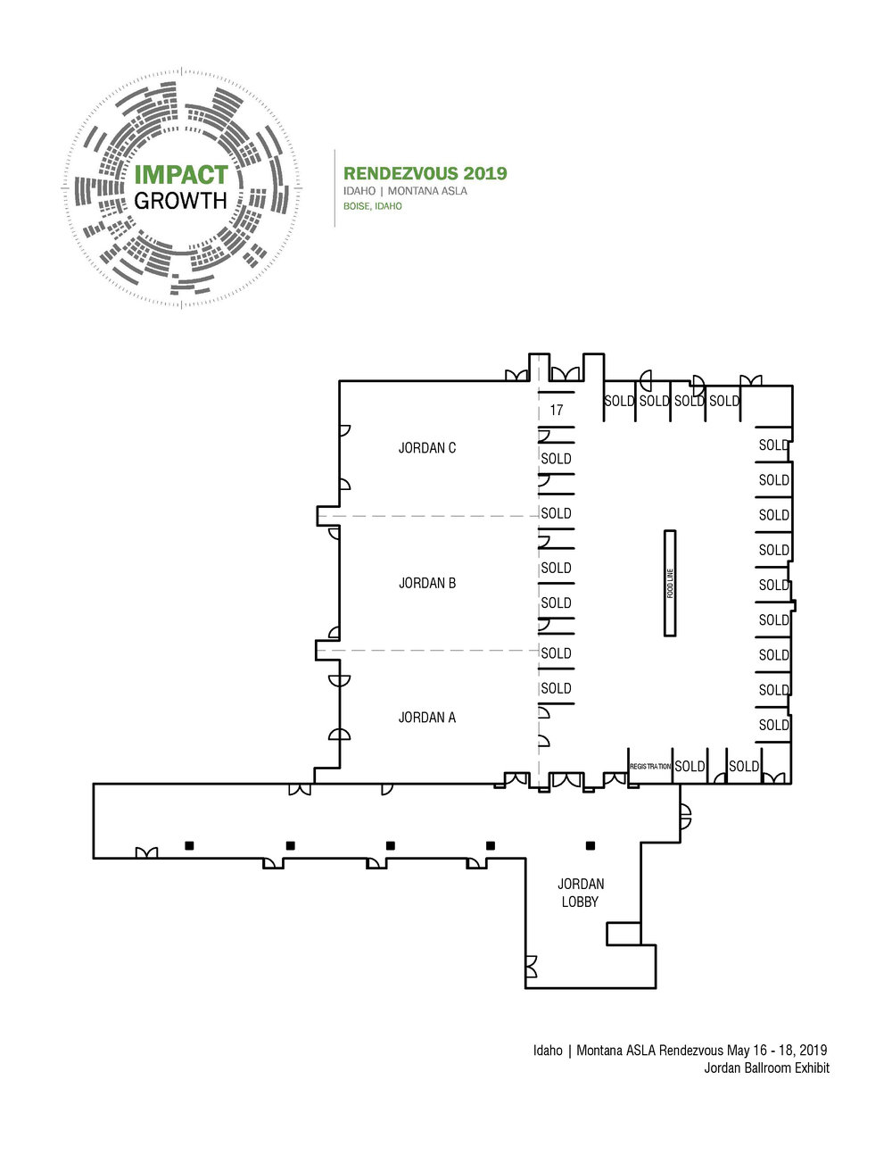 Exhibition Hall Map -
