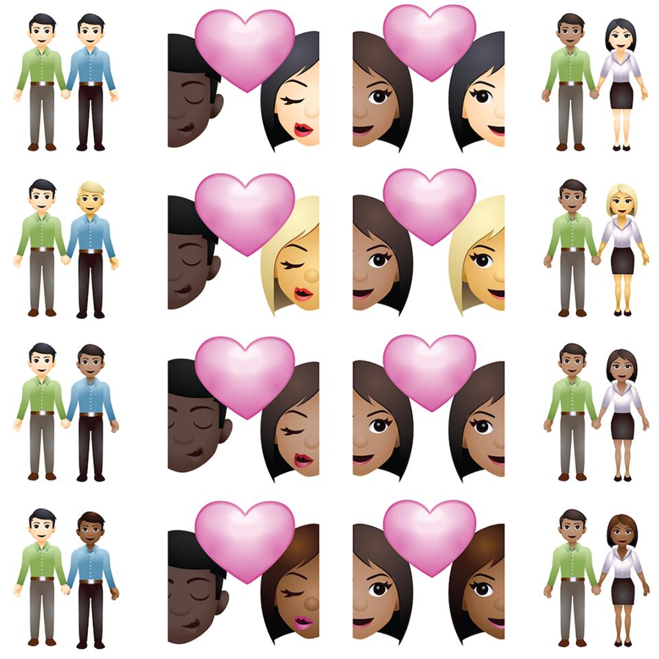 """LOVING"" emojis"