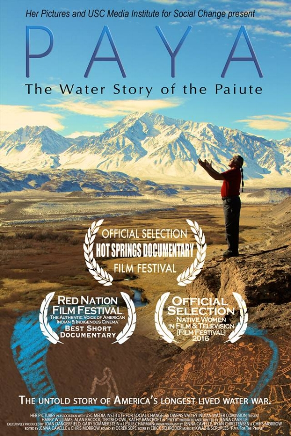 PAYA: THE WATER STORY OF THE PAIUTE SCREENS ON INDIGENOUS PEOPLES DAY