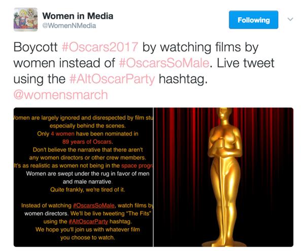 Boycott OscarsSoMale