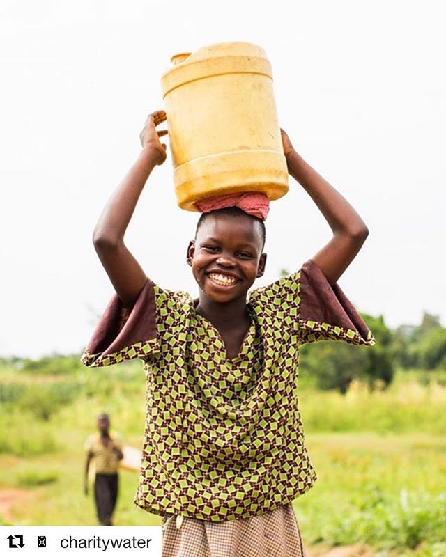 @charitywater // #images4change #water #cleanwater #smiles #health