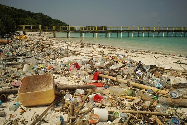 #images4change @nytimes // Plastic on a beach in Indonesia. A new study suggests that staggering amounts of the near-eternal material is in the environment and the numbers are likely to increase. #trash #environment #plastic