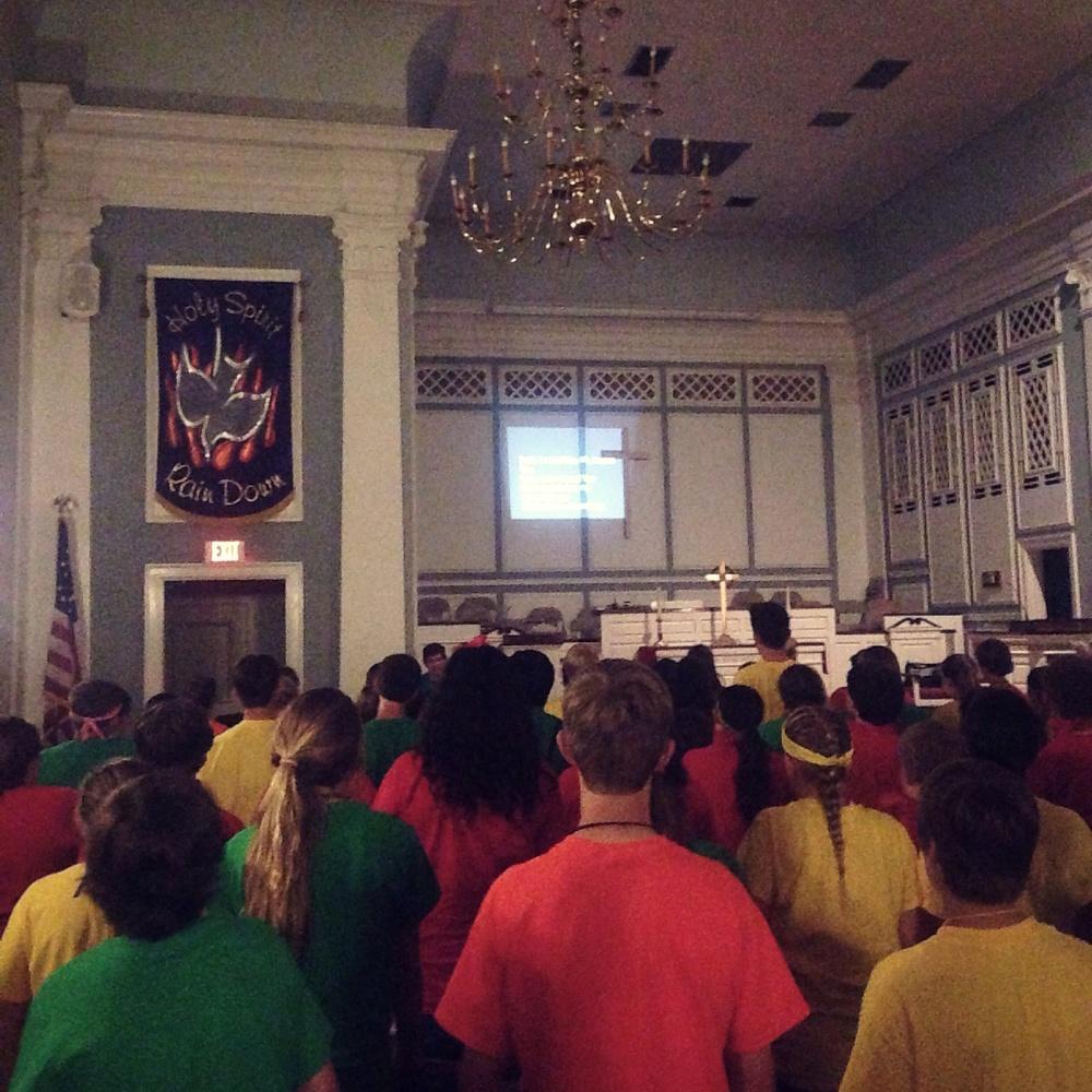 Worship led by Garner Martin
