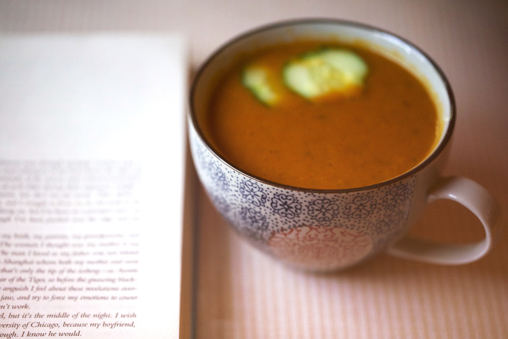 Roasted Pepper and Butternut Squash Soup
