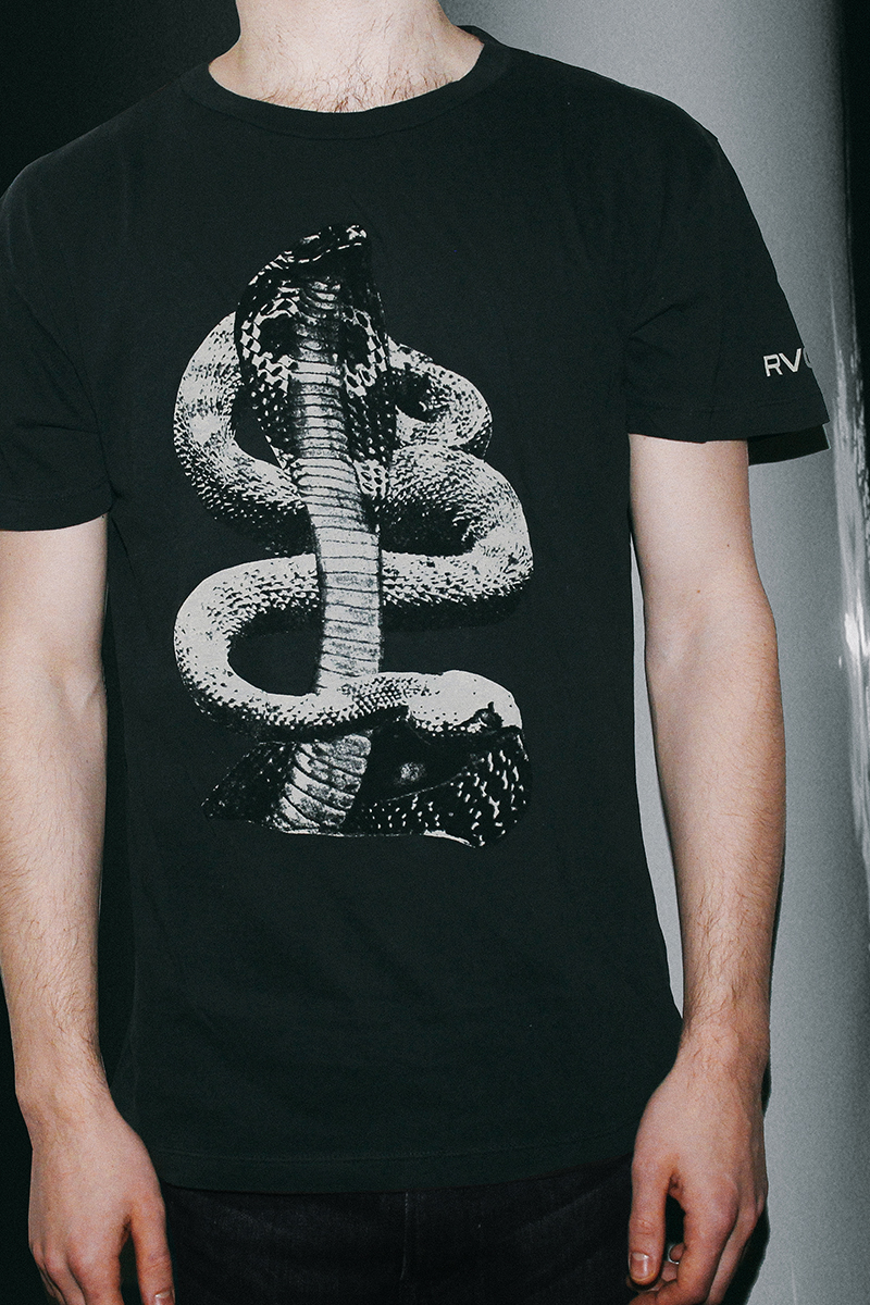 RVCA Collage and T-Shirt Collaboration