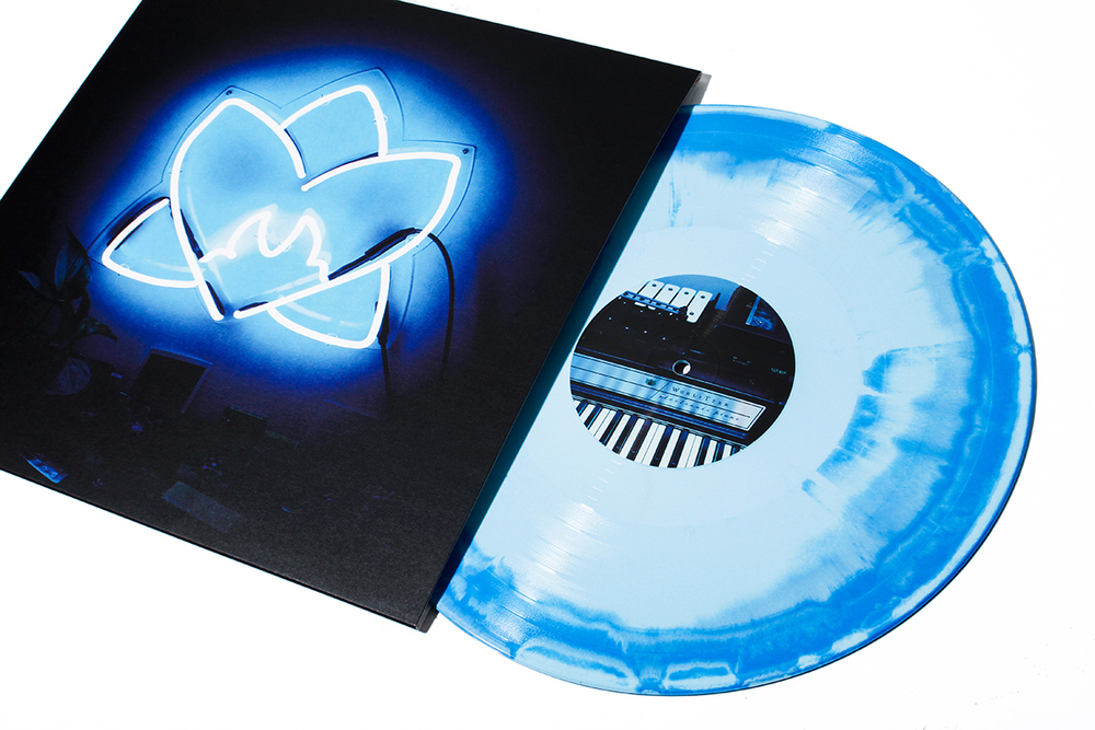 "Orchid Tapes ""Radiating Light"" Album Artwork"