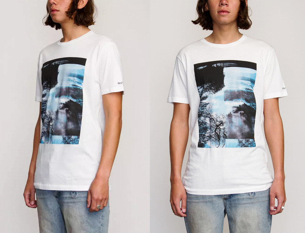 RVCA Blue Heaven T-shirt